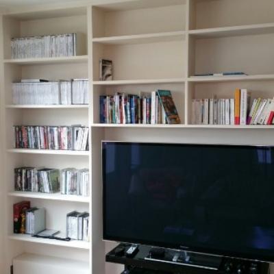 Bibliothèque et Meuble TV