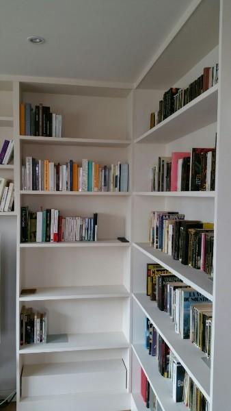 menuisier biblioth que biblioth que et meuble tv paris 17e. Black Bedroom Furniture Sets. Home Design Ideas